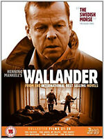 WALLANDER COLLECTED FILMS 21-26 DVD Box Set Krister Henriksson UK Release New R