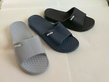Bright-1039 Men`s Summer Beach Slippers Shoes Size 7~12