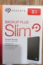 Seagate Backup Plus Slim 2TB Portable Storage External Hard drive