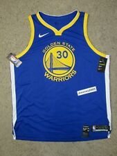 f07fa5a66c57 Nike Golden State Warriors Authentic Jersey Steph Curry  30 Sz 56   2xl
