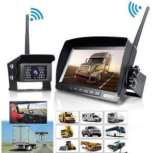 "Truck Digital Wireless Systems Reverse Rear View Back 7"" HD Monitor/Camera Kits"