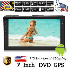 Bluetooth Car Stereo Radio GPS 2DIN 7inch HD MP5/MP4 Music Player Touch Screen