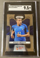 2018 Panini Prizm World Cup Kylian Mbappe ROOKIE RC #80 SGC 9.5 Mint +