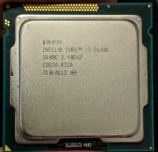 Intel Core i7-2600K 3.40GHz/ 8MB Quad Core Sandy Bridge Socket 1155 SR00C