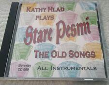Kathy Hlad Plays Instrumental Button Box - Stare Pesmi - AL Meixner CD