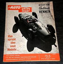 AMS 16/61 Test Dodge Lancer, VW mit Expreß-Zweivergaser-Anlage, Dethleffs Nomad