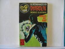 IL ROMANZO DI DIABOLIK  n.  4 del 1969   ed. Sansoni   Ottimo !!!