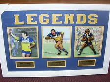 Parramatta NRL Rugby League Stirling Cronin Ray Price framed print memorabilia