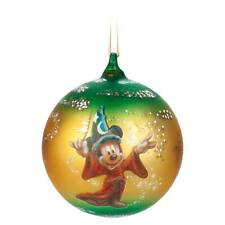Disney Parks Mickey Sorcerer Artist Series Limited Ball Ornament New with Box