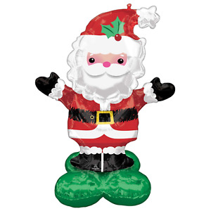Airloonz Santa Large Supershape 1.34 mtrs just over 4 feet Tall Air Fill