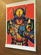 """Superhero: Wolverine"""" by Van Orton Design Limited Edition 75 Approx. 13"""" x 19"""""""