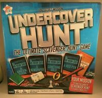 Undercover Hunt Board Scavenger Game Spy Mission Top Secret Family Kids Play Toy