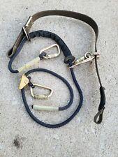 3M Dbi-Sala Cynch Lok 1204057 Body Belt,1-3/4 x 55 In,1 Anchor Point
