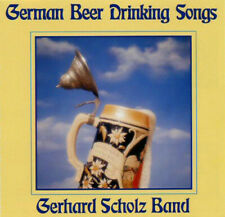 German Beer Drinking Songs - Gerhard Scholz Band - NEW/SEALED - Compose  9042-2