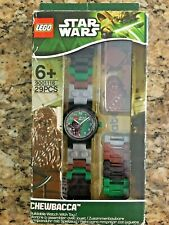 LEGO STAR WARS 9001116 CHEWBACCA BUILDABLE WATCH WITH TOY 29 PCS CLIC TIME 2013