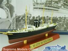 SS CITY OF NEW YORK BOAT MODEL 1:1250 SIZE IXO ATLAS TRANSATLANTIC LINERS SHIP T