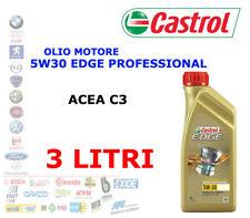 3 LT OLIO MOTORE CASTROL EDGE PROFESSIONAL LL  LL04 5W-30 Acea C3 BMW VW AUDI
