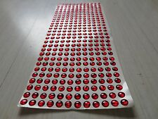 300pcs 6mm All Red 3D Holographic Fishing Lure Eyes. Fly Tying, Jigs, Crafts