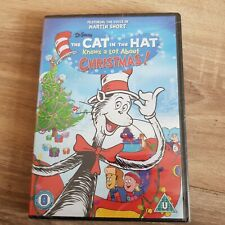 Dr Seuss The Cat In The Hat Knows A Lot About Christmas DVD (New & Sealed)