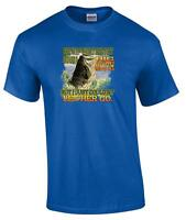 Funny Short and Fat Had A Big Mouth Couldn't Let Her Go Bass Fishing T-Shirt