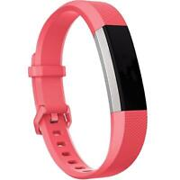 Fitbit Alta HR Armband Grš§e L Ersatz Band Silikon Sport Ersatzband Fitness Pink