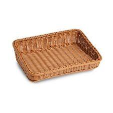 Sloping Brown Polywicker Basket