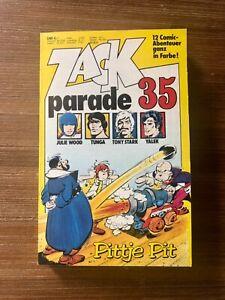 Zack Parade Nr.35 ++ mit Coupons ++ ungelesen