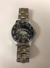 Men's Nevada Wolfpack Stainless Steel Watch