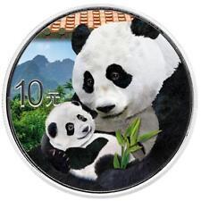 China - 10 Yuan 2019 - Panda - 30 gr. Silber ST in Farbe