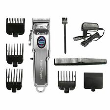Metal Electric Hair Clipper Professional & Home Hair Trimmer Tool gift box 2002