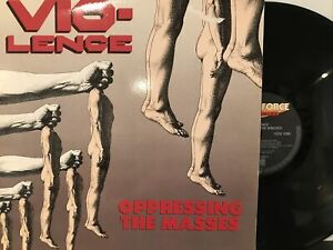 Vio-Lence – Oppressing The Masses LP 1990 Megaforce 7567-82105-1 EX Germany