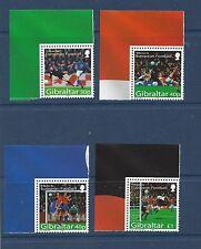 GIBRALTAR - 971 - 974   - MNH - 2003 - EUROPEAN FOOTBALL