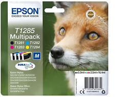 Epson T1285 Black, Cyan, Magenta, Yellow Ink Cartridge