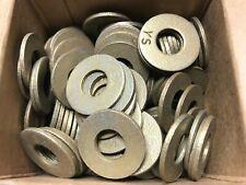 """100 Pc Grade 8 Steel 3/8"""" Uss Flat Washers"""