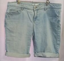 Ladies Size 12/14 Stonewashed Denim shorts
