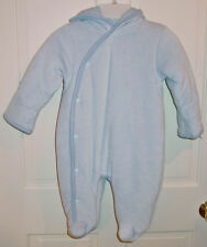 Calvin Klein Infants Unisex Light Blue Snowsuit Size 18 Month New With Tags