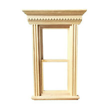 Dollhouse Furniture Wooden Up&Down Sliding Window 1:12 Miniature DIY Accessory