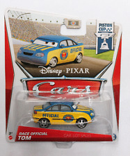 Disney Pixar Cars  RACE OFFICIAL TOM #18/18 IMPERFECT PACKAGES