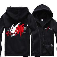 Anime Akame ga KILL! Zip Hoodie Unisex Casual Sweats Jacket Coat Cosplay Costume
