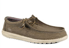 Hey Dude Men's Wally Canvas Nut