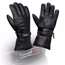 thermique moto cuir Gants imperméable protection original hiver