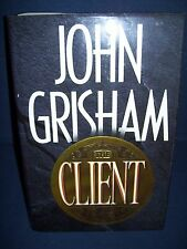 The Client John Grisham Hardcover Used 1993 Doubleday 1st Edition