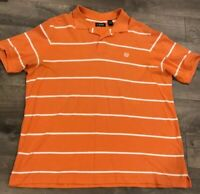 Chaps Mens Polo Shirt Size 2XLT Orange