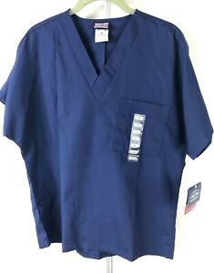 CHEROKEE WORKWEAR SCRUBS  V NECK UNISEX SIZE XS NEW W/  TAGS NAVY