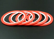 3mm Red Masking Tape Good For Nail Polish Painting Decoration 5rolls
