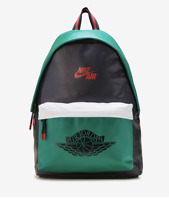 Nike Air Jordan 1 Mystic Green Backpack - Retro Green/Black Laptop Sleeve NWT