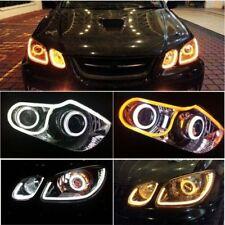★Imported 2Pcs X 60CM Flexible AUDI DRL-Day Light LED tube For Skoda Superb★