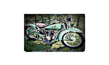 1929 henderson excelsior Bike Motorcycle A4 Photo Poster