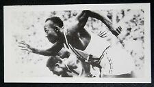 Jesse Owens Sprint USA carte photo très bon état