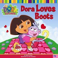 Kids cool paperback:Dora the Explorer: Dora Loves Boots-Dora+Boots Valentines?